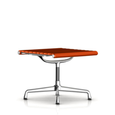 EA323L1R01: Customized Item of Eames Aluminum Ottoman by Herman Miller (EA323)