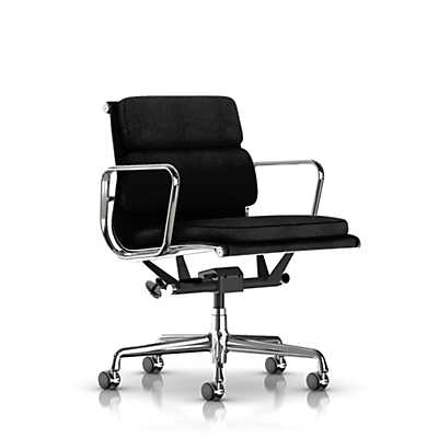 Picture of Eames Soft Pad Management Chair, Fabric by Herman Miller