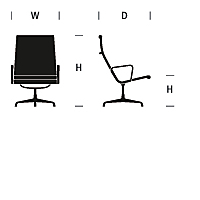 Eames Outdoor Lounge Chair Dimensions