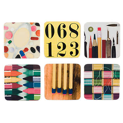 Picture of Eames Coasters, Set of 6
