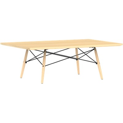 Picture Of Eames Rectangular Dowel Leg Coffee Table By Herman Miller