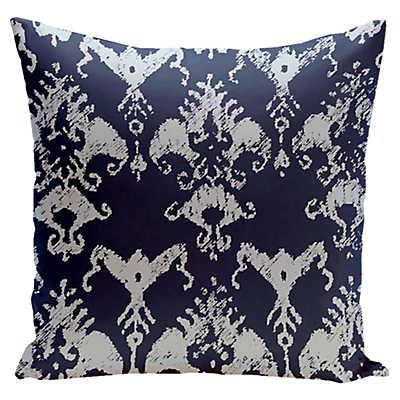 Vintage Floral Pillow In Blue Navy SmartFurniturecom