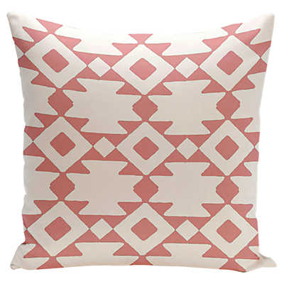 Picture of Native Large Print Pillow in Pink