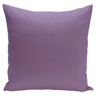 Small Diamond Pillow In Violet Heather Lilac Smart Furniture