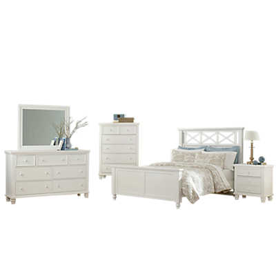 Ellington garden bedroom set by vaughan bassett smart for Ellington bedroom set