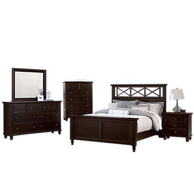 Picture of Ellington Garden Bedroom Set by Vaughan-Bassett