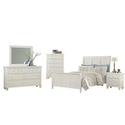 Ellington sleigh bedroom set by vaughan bassett smart for Ellington bedroom set