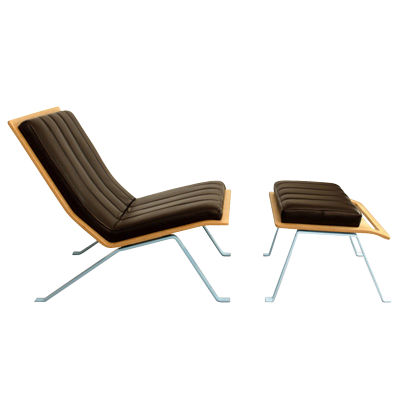 Picture of Ilex Lounge Chair and Ottoman