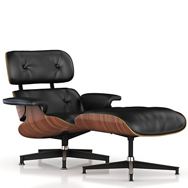 ES670719NVB25: Customized Item of Eames Lounge Chair and Ottoman by Herman Miller (ES67071)