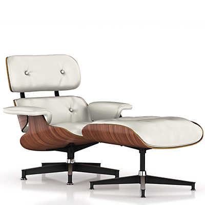 Picture of Eames Lounge Chair and Ottoman by Herman MillerHerman Miller Eames Lounge Chair ES670 and ES671   Smart Furniture. Eames Lounge Chair And Ottoman Walnut Frame Standard Leather. Home Design Ideas