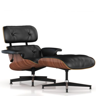 ES67071OUVB25: Customized Item of Eames Lounge Chair and Ottoman by Herman Miller (ES67071)