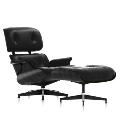 Picture for Eames Tall Lounge Chair and Ottoman Ebony by Herman Miller
