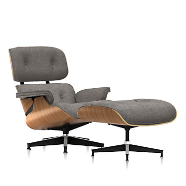 ES67071MO-9N-ZMS18: Customized Item of Eames Lounge Chair and Ottoman, Premium Mohair by Herman Miller (ES67071MO)