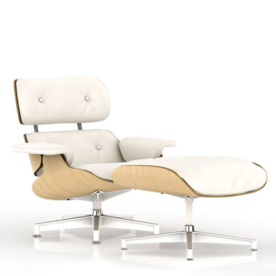 Picture of Eames Lounge Chair, White Ash by Herman Miller