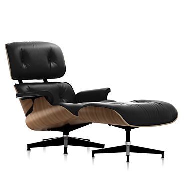 ES67071TOUVB02: Customized Item of Eames Tall Lounge Chair and Ottoman by Herman Miller (ES67071T)