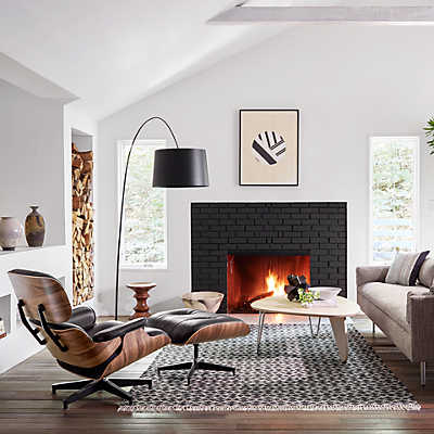 On Sale  Picture of Eames Lounge Chair and Ottoman by Herman MillerHerman Miller Eames Lounge Chair ES670 and ES671   Smart Furniture. Eames Lounge Chair And Ottoman Walnut Frame Standard Leather. Home Design Ideas