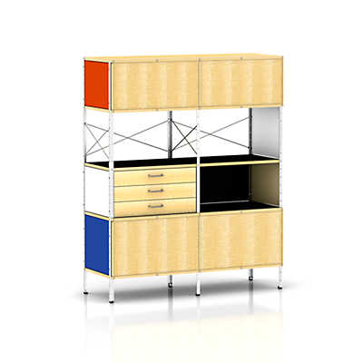 Picture of Eames Storage Unit by Herman Miller, 4 x 2