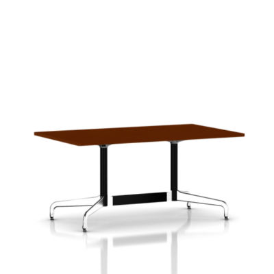 ET143WL919191PA: Customized Item of Eames Rectangular Table by Herman Miller (ET143W)
