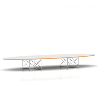ETRTBKBK: Customized Item of Eames Elliptical Table by Herman Miller (ETRT)