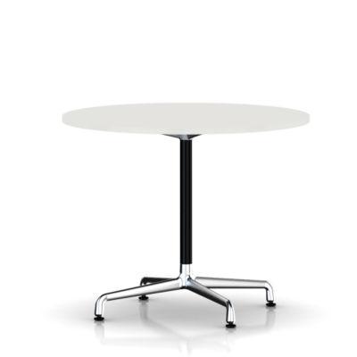 Herman Miller Eames Round Tables Universal Base Smart Furniture