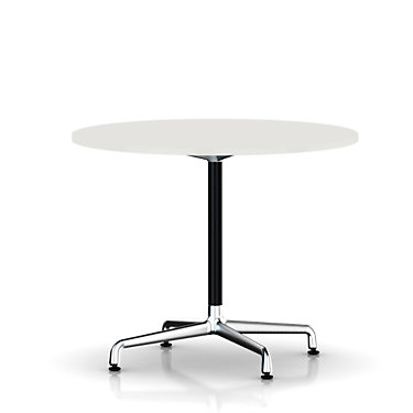 ETU28102WULBUPA: Customized Item of Eames Round Table by Herman Miller, Universal Base (ETU28)