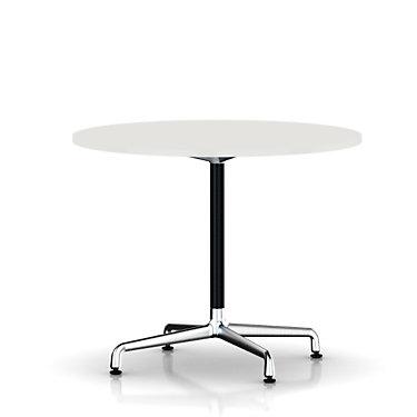 ETU28102L9898BUPA: Customized Item of Eames Round Table by Herman Miller, Universal Base (ETU28)
