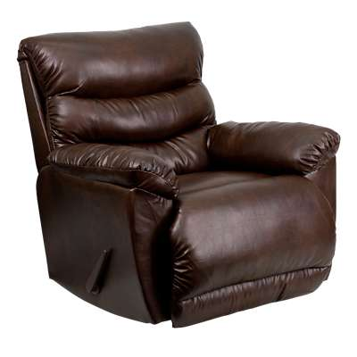 Picture for Contemporary Tonto Espresso Bonded Leather Rocker Recliner