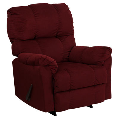 FFAM-9320-417-0-GG: Customized Item of Contemporary Top Hat Microfiber Rocker Recliner (FFAM-9320-417)