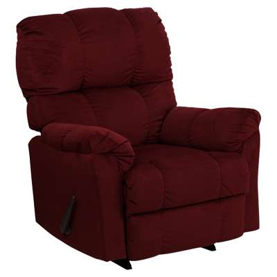 Picture for Contemporary Top Hat Microfiber Rocker Recliner