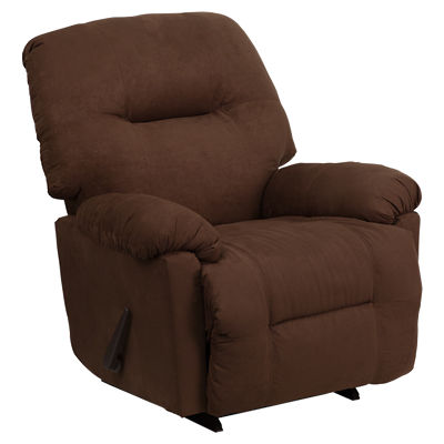 Picture of Contemporary Chaise Rocker Recliner