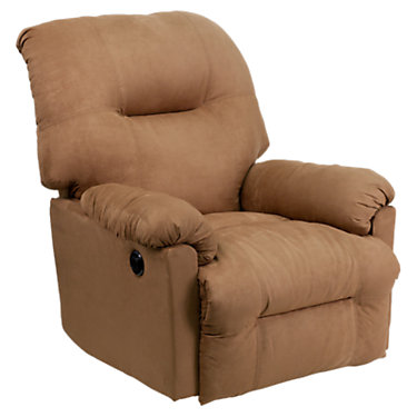 FFAM-CP9350-2550-GG: Customized Item of Contemporary Microfiber Power Chaise Recliner (FFAM-CP9350)