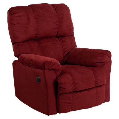 Picture of Contemporary Top Hat Microfiber Power Recliner