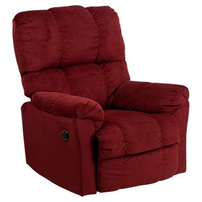 Picture for Contemporary Top Hat Microfiber Power Recliner