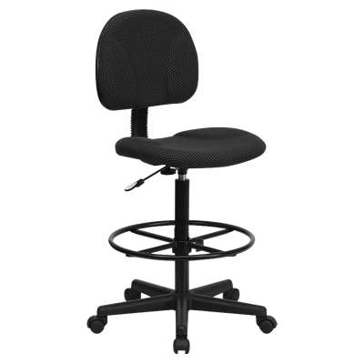 Picture for Patterned Fabric Ergonomic Drafting Stool