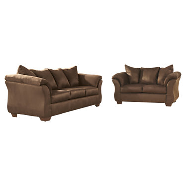FFFSD-1109SET-CAF-GG: Customized Item of Signature Darcy Living Room Set (FFFSD-1109SET)