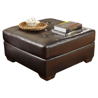 FFFSD-2399OTT-RED-GG: Customized Item of Signature Alliston Oversized Ottoman (FFFSD-2399OTT)