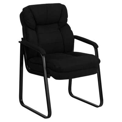 Picture for Microfiber Executive Side Chair with Sled Base