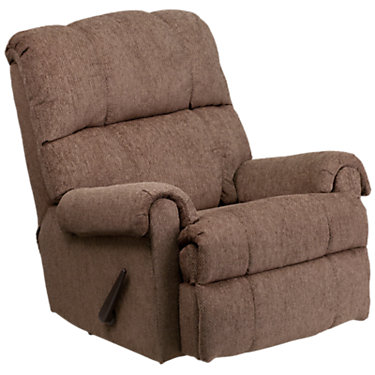 FFWM-8700T-210-GG: Customized Item of Contemporary Tahoe Chenille Rocker Recliner (FFWM-8700T)