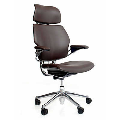 Picture of Freedom Chair with Headrest by Humanscale, Leather Seat