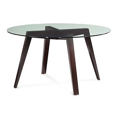 Picture of Spider Round Glass Top Dining Table