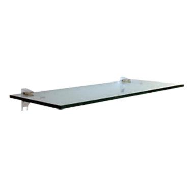 GLASS10x36-WHITE: Customized Item of Glass Wall Shelf by Smart Furniture (GLASS)