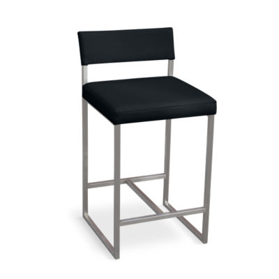 GRAPHST-VINYL COAL: Customized Item of Graph Counterstool by Gus Modern (GRAPHST)
