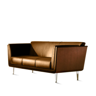 GS100OU21092109S: Customized Item of Goetz Sofa by Herman Miller (GS100)