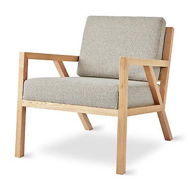 GSTRUSS-VINMIN-BLACKASH: Customized Item of Truss Chair by Gus Modern (GSTRUSS)