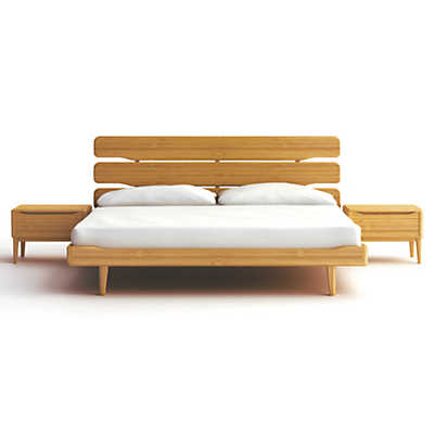 Picture of Currant Queen Platform Bed by Greenington