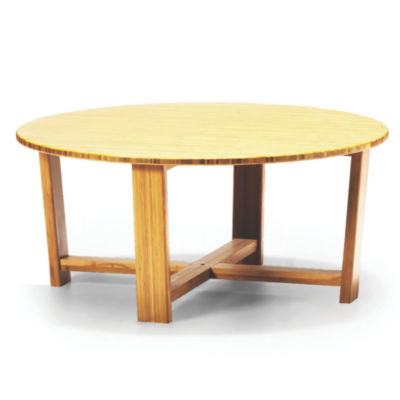 GTDAISYCT-CARAMELIZED: Customized Item of Daisy Round Coffee Table by Greenington (GTDAISYCT)