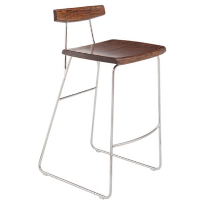Picture of City Lights Paris Bar Stool with Back by Greenington, Set of 2