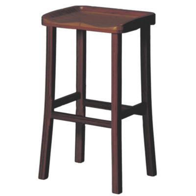 GTGC0602H-BLACK WALNUT: Customized Item of Tulip Bar Stool by Greenington, Set of 2 (GTGC0602H)