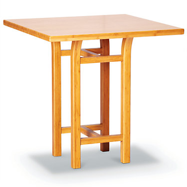 GTTULCTC-BLACK WALNUT: Customized Item of Tulip Counter Table by Greenington (GTTULCT)