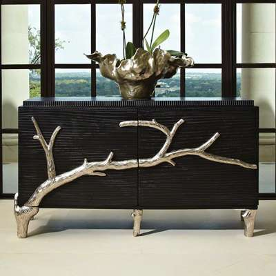 Picture for Two Door Branch Cabinet by Global Views